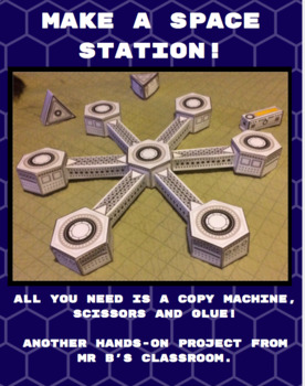 Build A Space Station! Fun Kit For All Ages! Hands On Space Exploration!