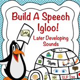 Articulation Winter Craftivity: Build A Speech Igloo! Later Developing Sounds