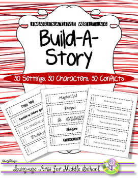 Build-A-Story Imaginative Story Writing Activity