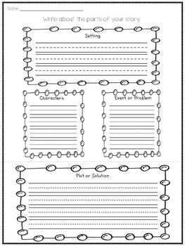 Story Elements Build A Story Writing Workshop FREE SAMPLER