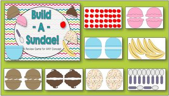 Build A Sundae (Review Game for Any Topic)