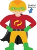 Build A Superhero Whole Class Reward System