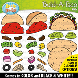 Build-A-Taco Clipart Set {Zip-A-Dee-Doo-Dah Designs}