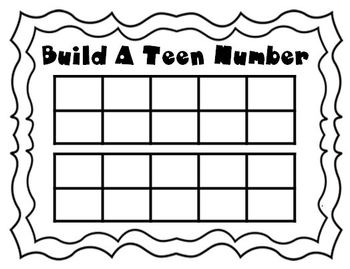 Build A Teen Number