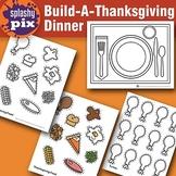 Build A Thanksgiving Dinner Printable