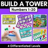 Kindergarten Math | Build A Tower