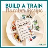 Build A Train Preschool Activity - Number Recipes