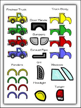 Build A Truck Clipart