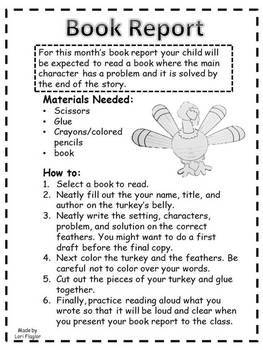 Book Report- Build a Turkey