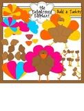 Build A Turkey Clip Art
