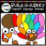 Build A Turkey Clipart