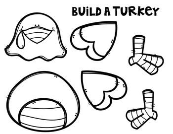 Build A Turkey Craftivity