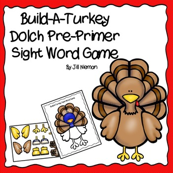 Sight Word Game-Thanksgiving Activity