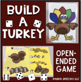 Build-A-Turkey: An Open-Ended Game + Speech Therapy Quick Lists