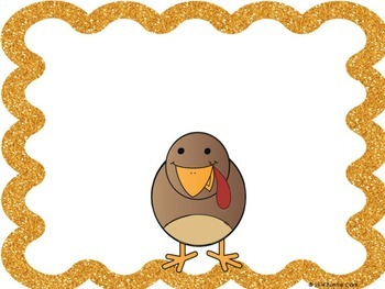 Build A Turkey a skip counting Math Center