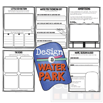 Project Based Learning:  Design A Water Park! (PBL)