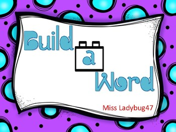 Build A Word Short and Long Vowels (half size)