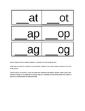 Build A Word Activity: Onset and Rime