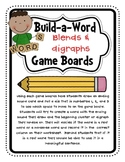 Build-A-Word {Blends and Digraphs}