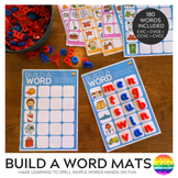 Build A Word CVC CVCC CCVC CVCe Pack