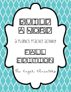 Build A Word Fall Edition