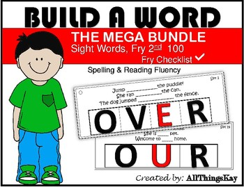 Build A Word: Fry Sight Word Edition: 100 Words
