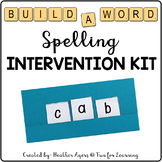 """Build A Word"" Spelling Intervention Kit"