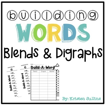 Building Blends and Digraphs