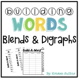 Blends and Digraphs Word Building Station