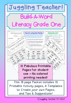 Build-A-Word Literacy & Vocabulary