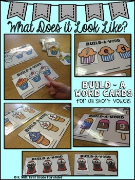 Build-A-Word Short Vowel RTI Small Group Pack