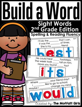 Build A Word : Sight Word Edition (2nd Grade)