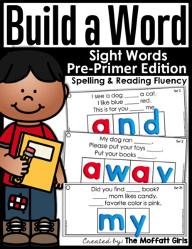 Build A Word : Sight Word Edition (Pre-Primer)