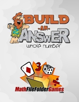 Build An Answer: Addition, Subtraction, Multiplication & Division Game