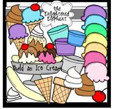 Build An Ice Cream Clip Art