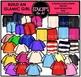 Build An Islamic Girl Clip Art Bundle {Educlips Clipart}