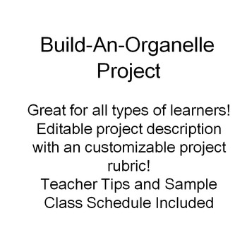 Cell Organelle Project to Turn Your Classroom into a Cell