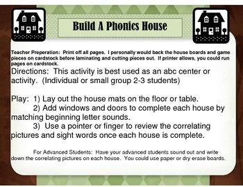 Build  Beginning Sound Houses