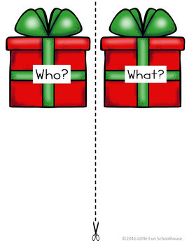 Sentence Building Christmas Writing Activity