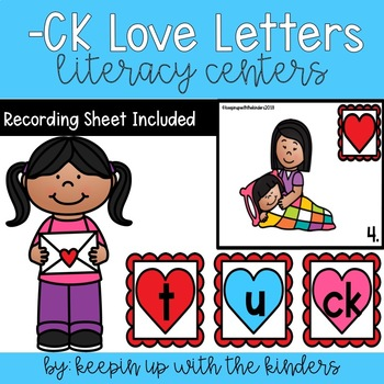 Build -CK Love Letters with Recording Sheet