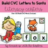 Build CVC Word-Santa Letters Edition
