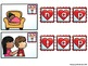 Build CVC Word- Valentine's Day Letters