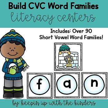 Build CVC Words- Winter Edition