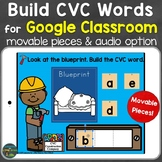 Build CVC Words for Google Classroom (Google Slides) Dista