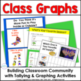 Build Classroom Community with Bar Graphs and Tally Marks