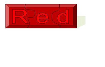 Build Color Word Puzzles