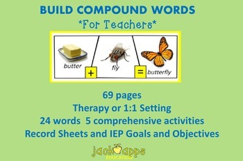 Build Compound Words for Teachers and Clinicians