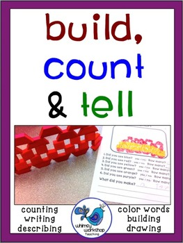 Build Count and Tell {FREEBIE} Whimsy Workshop Teaching