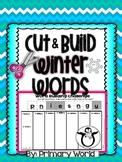 Word Building Winter Words Build & Cut
