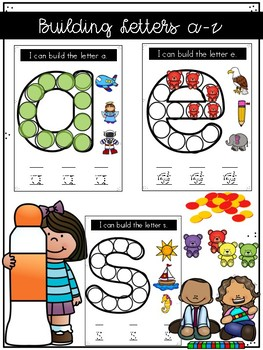 Build/ Decorate a Letter in English